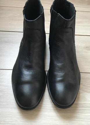 Кожаные ботинки челси 43 44 размер