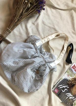 Красивая тканевая сумка от atmosphere , морская сумка