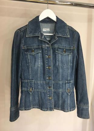 Джинсовый пиджак куртка heine
