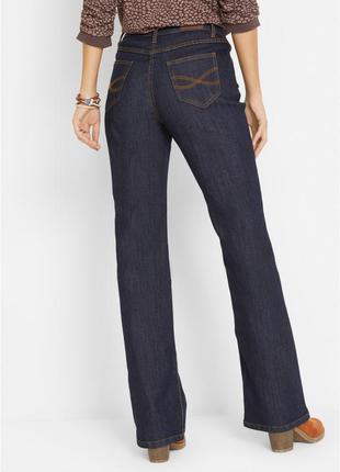 Стрейчевые джинсы стрейч высокая посадка bonprix