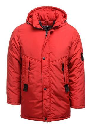 Очень теплая и качественная куртка- парка