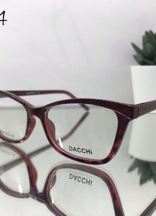 Оправа под установку линз,стильные имиджевые очки