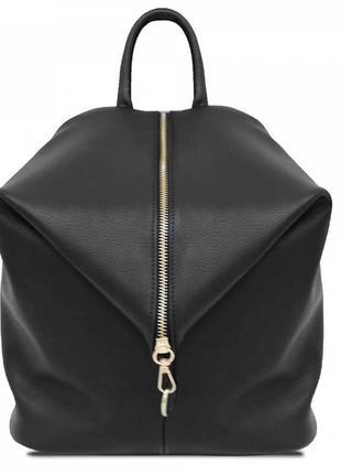 Женский рюкзак asymmetry черный