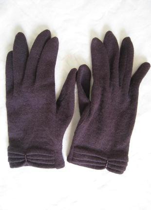 Тонкие шерстяные перчатки venera 100% шерсть