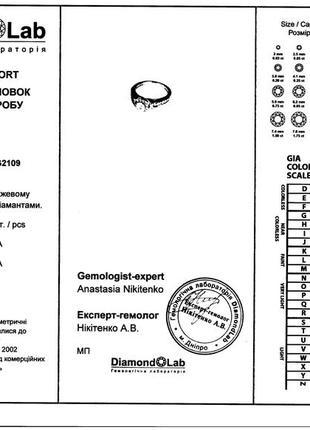 Золотое кольцо 585  бриллианты 0.51ct размер 17 сертификат10 фото