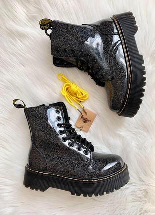 Хит продаж женские ботинки dr. martens jadon galaxy новинка без меха