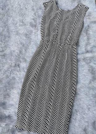 Платье с драпировкой на спинке next