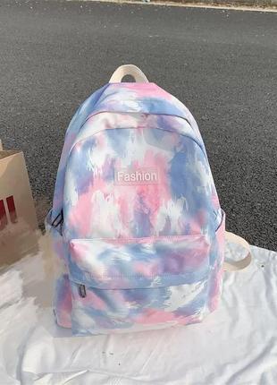 Рюкзак в стиле тай дай