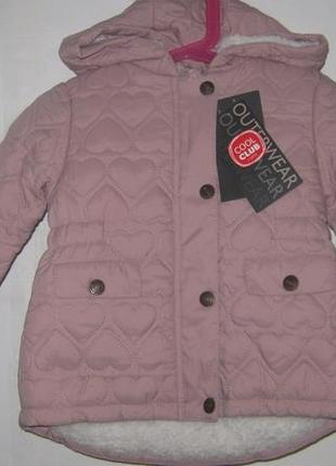 Идеальная стеганая курточка на тонком меху тм cool club
