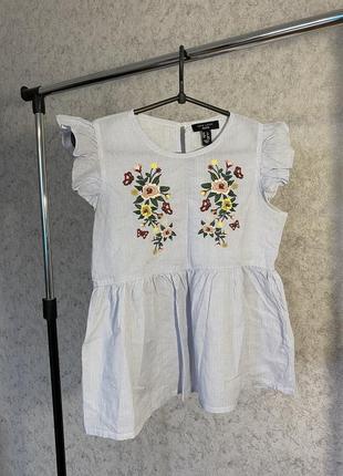 Блуза с крылышками