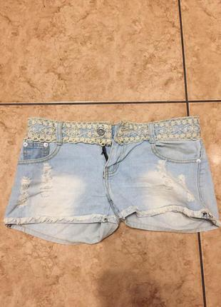 Летние джинсовые шортики
