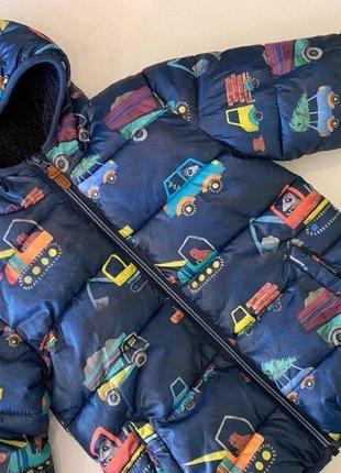 Куртка с машинками 3-4 года от next