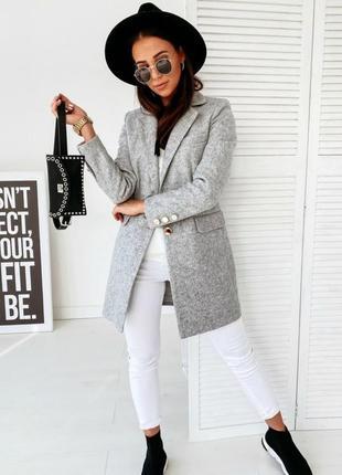 Кашемировое пальто на подкладке
