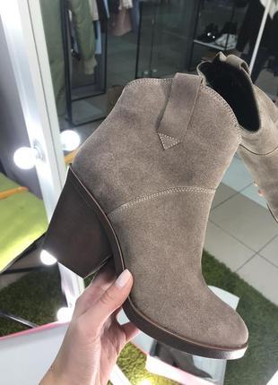 Ботинки в стиле казаков