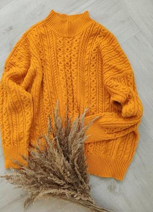 Очень крутой теплый свитер от asos, размер 5xl