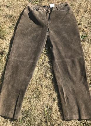 Классные замшевые брюки 🤎