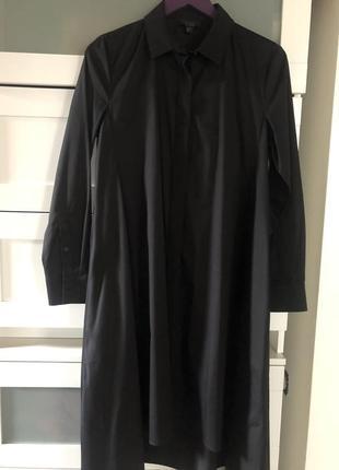 Cos платье-рубашка из хрустящего хлопка