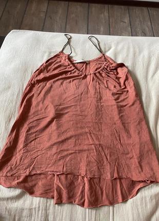 🔥тотальная распродажа гардероба!!! майка-блуза zara
