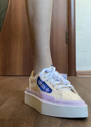 Adidas hyper sleek кроссовки кеды