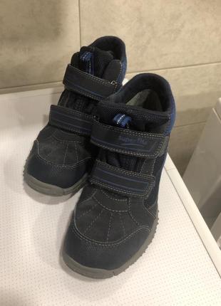 Superfit осенние ботиночки для мальчика