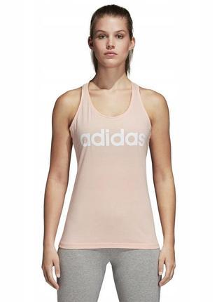 Спортивная майка adidas с большим лого