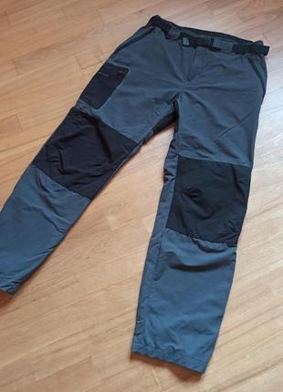 Мужские трекинговые штаны брюки туристические quechua forclaz 900