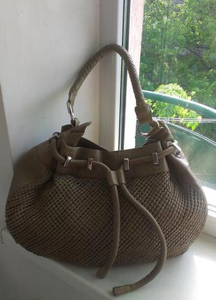 Кожаная сумка reiss