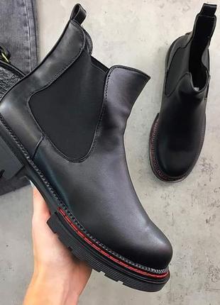 Чёрные ботинки/гриндерсы /мартинсы/челси. ботинки осень-весна. 36-41
