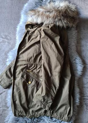 Женская куртка парка zara
