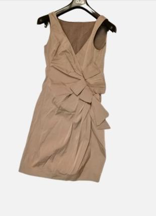 Moschino шелк платье