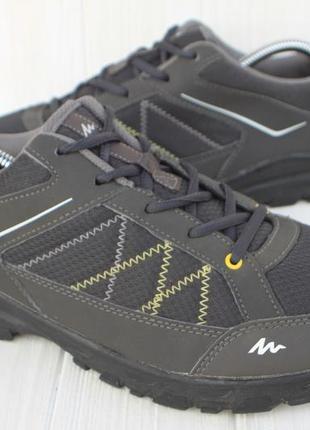 Полу ботинки quechua франция 45р кроссовки треккинговые