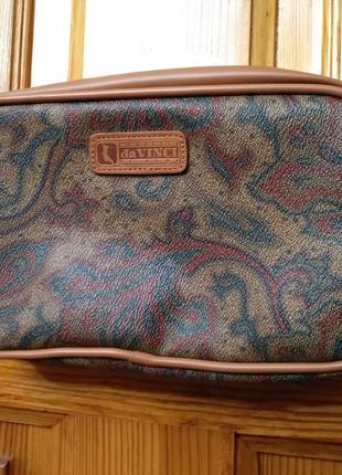 Женская сумочка через плечо, кроссбоди, косметичка contessa da vinci di roma италия