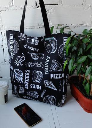 """Эко сумка для покупок """"brunch"""", шоппер"""
