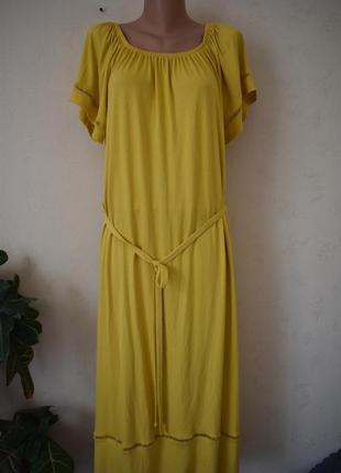 Новое красивое трикотажное платье большого размера