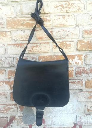 Крутая кожаная сумка крос боди через плече rowallan. hend