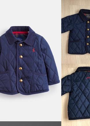 Деми куртка joules p.3-6мес