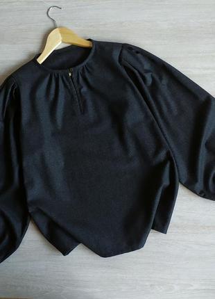Шерстяная блуза