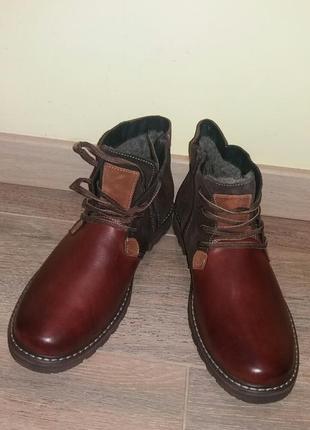 Poland мужские ботинки на меху зимние