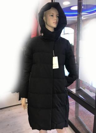 Стильная женская удлиненная куртка пальто max mara р. 46-48-50-52