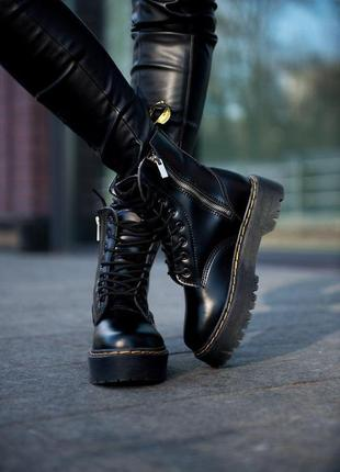 "Женские ботинки ""dr.martens"" на меху"