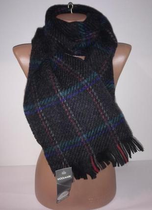 Шерстяной шарф.с бирками