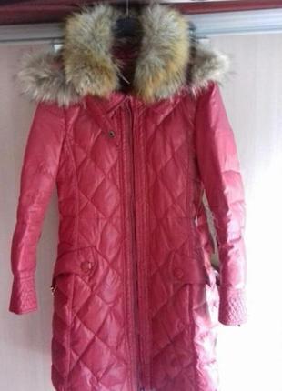 Пуховик фирменный max mara плащ пальто куртка
