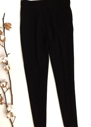 Чёрные укорочённые брюки escada (оригинал)