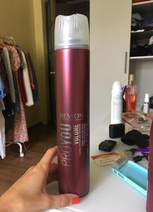 Лак для волосся/лак для волос/фіксаційний спрей revlon professional