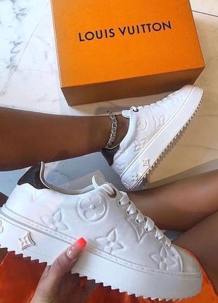 Шикарные женские кроссовки топ качество louis vuitton 🎁