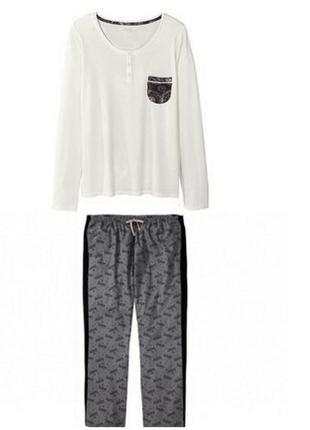 Пижама, комплект для дома esmara р.евро l 44-46 (наш 50-52)