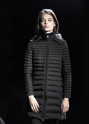 Новый пуховик gertude + gaston непромокаемый непродуваемый куртка парка дутик 90% пух