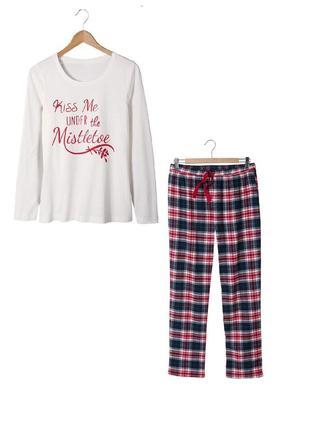 Пижама с фланелевыми штанами esmara, р. 36/38 евро