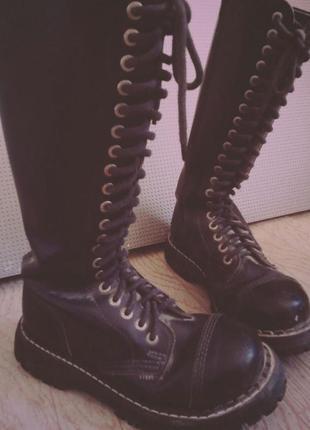 Ботинки мартинсы стиллы steel