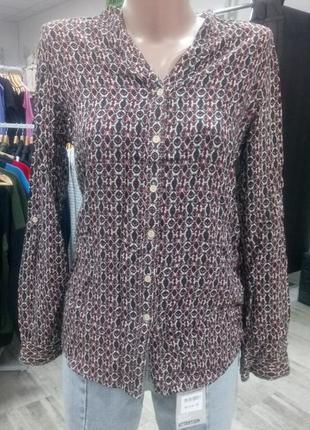 Стильная рубашка блуза оверсайз